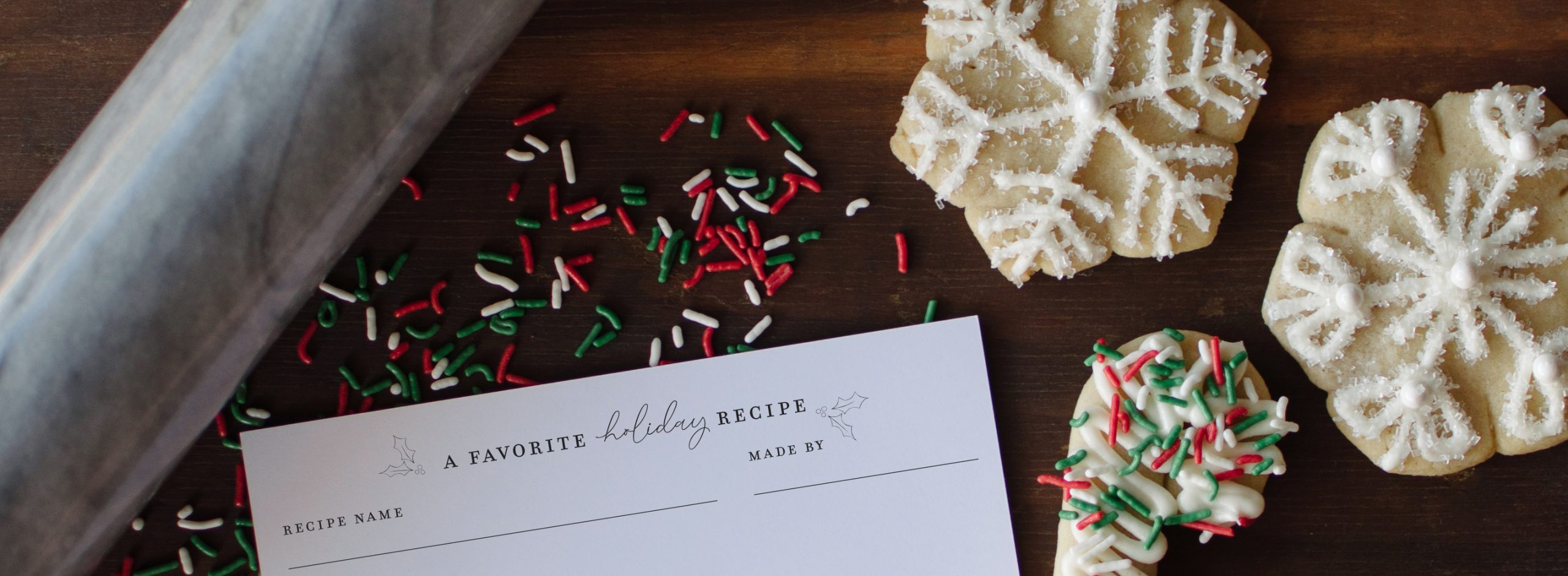 Recipe Cards-ChristmasCookie-Header
